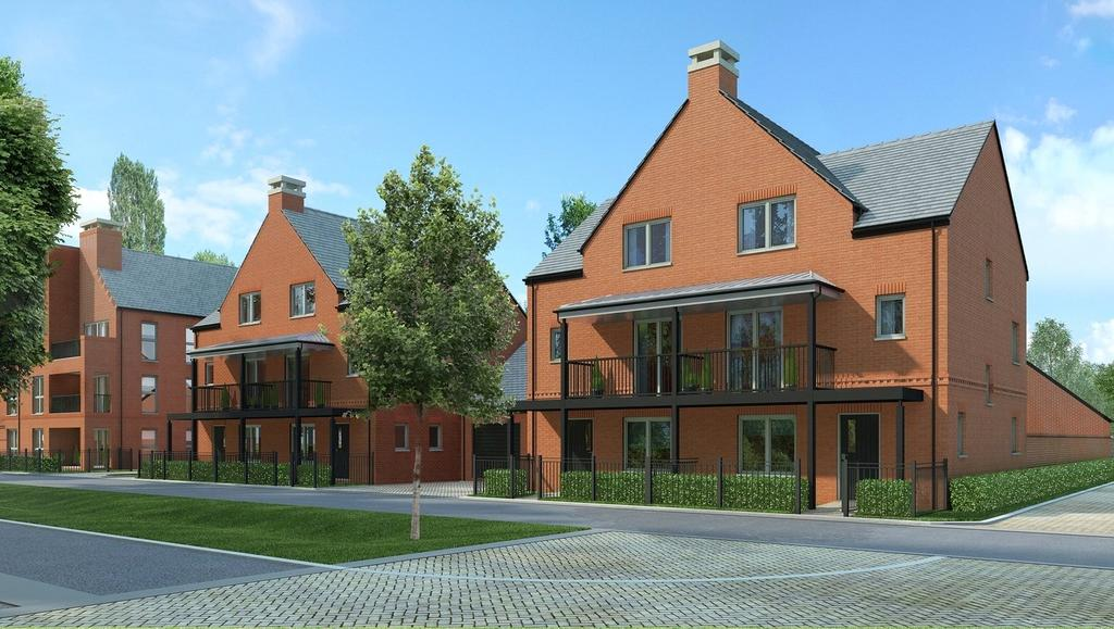 4 Bedrooms Semi Detached House for sale in The Walker, Kings Barton, Andover Road North, Winchester, SO22