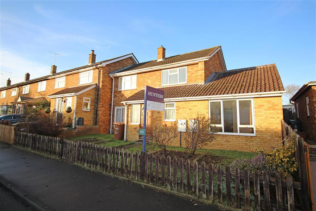 3 Bedrooms End Of Terrace House for sale in Wychdell, Stevenage, SG2 8JD