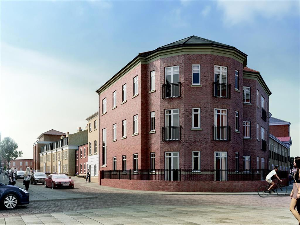 2 Bedrooms Flat for sale in Garden Square East, Boughton Court, Apt 1 Apt 3, Dickens Heath