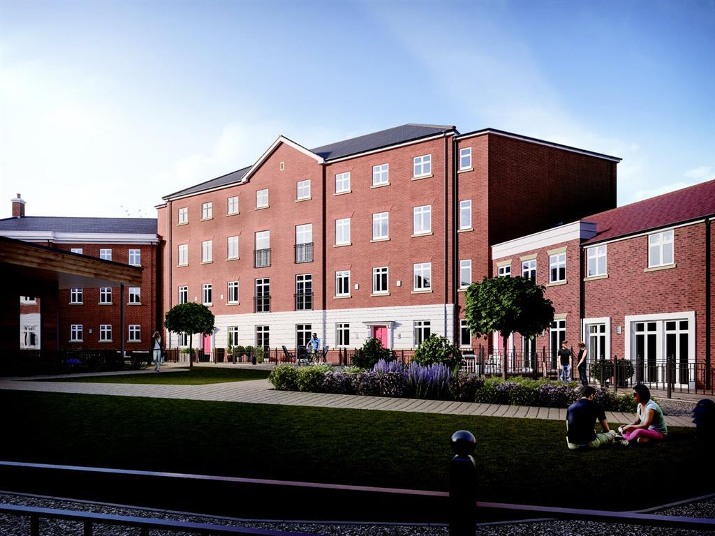 2 Bedrooms Apartment Flat for sale in Garden Square East, Abbotsbury Court Apt 20 22, Dickens Heath