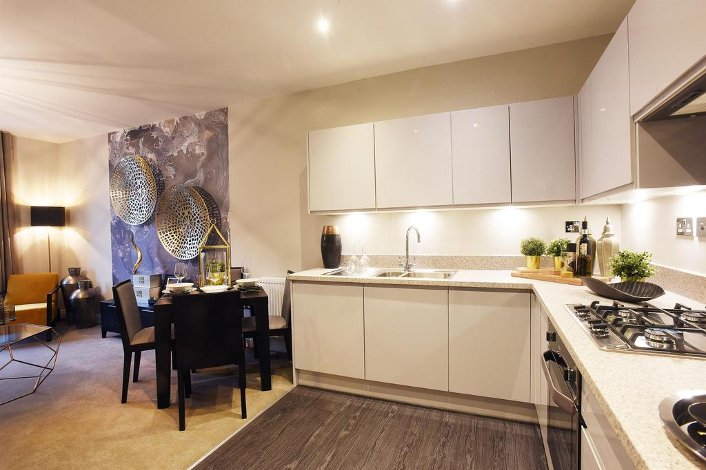 2 Bedrooms Apartment Flat for sale in Garden Square East, Abbotsbury Court Apt 19 21, Dickens Heath