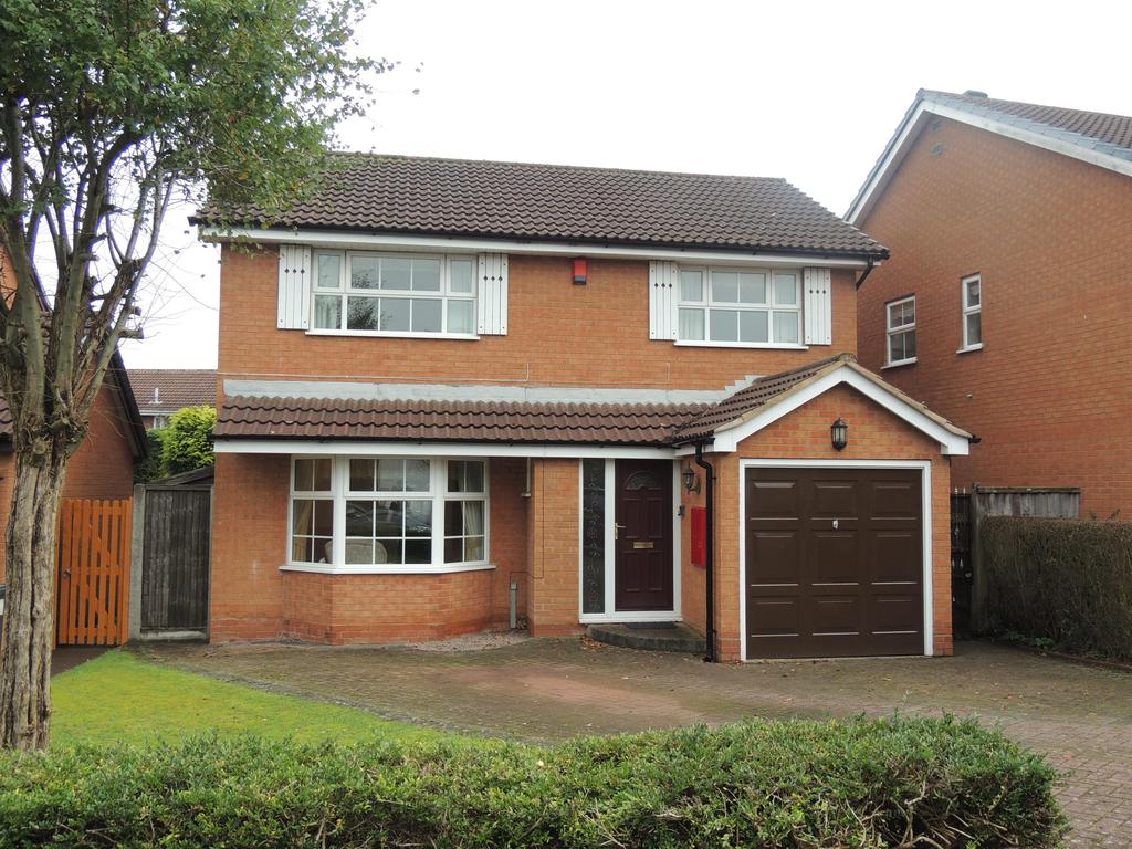 4 Bedrooms Detached House for sale in Willowbank Road, Knowle, Solihull