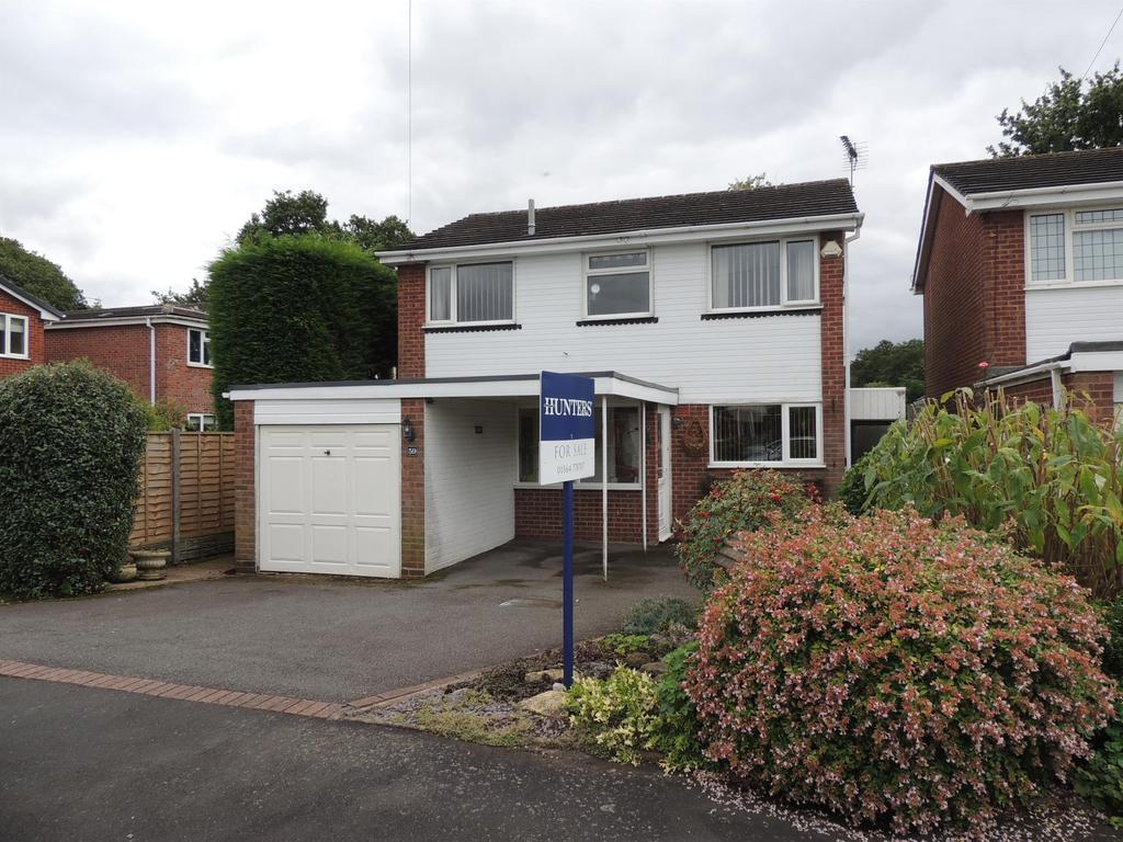 4 Bedrooms Detached House for sale in Meadow Close, Hockley Heath