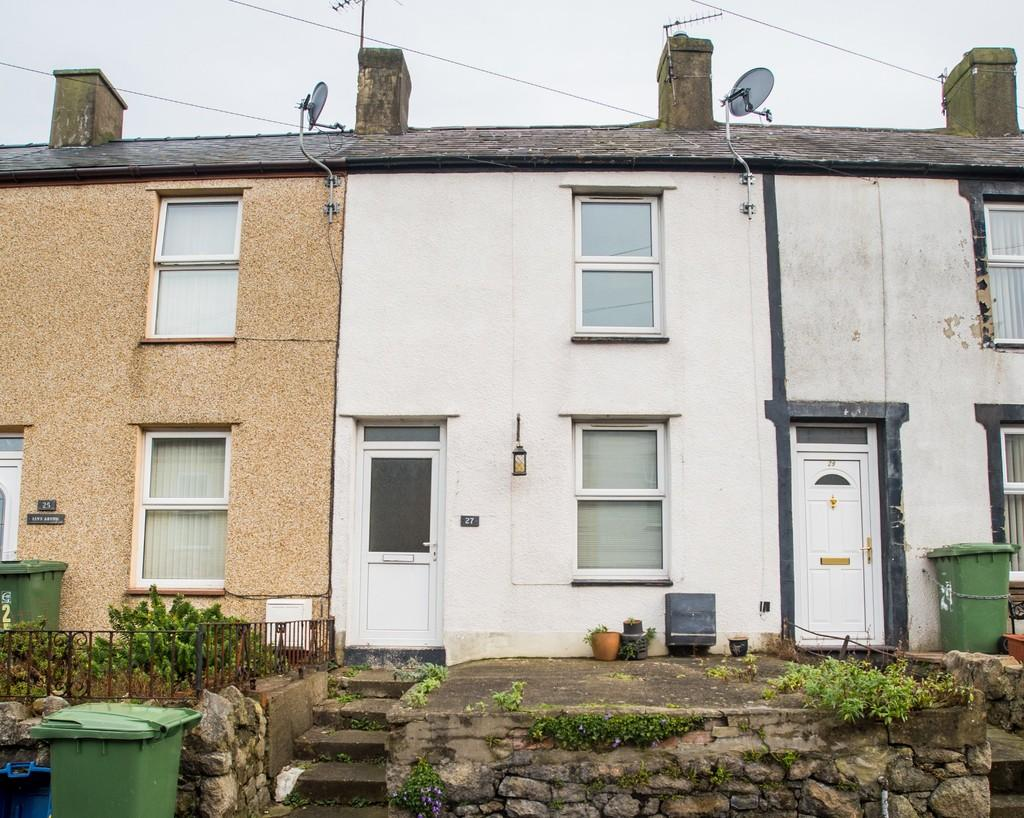 2 Bedrooms Terraced House for sale in Assheton Terrace, Caernarfon, North Wales