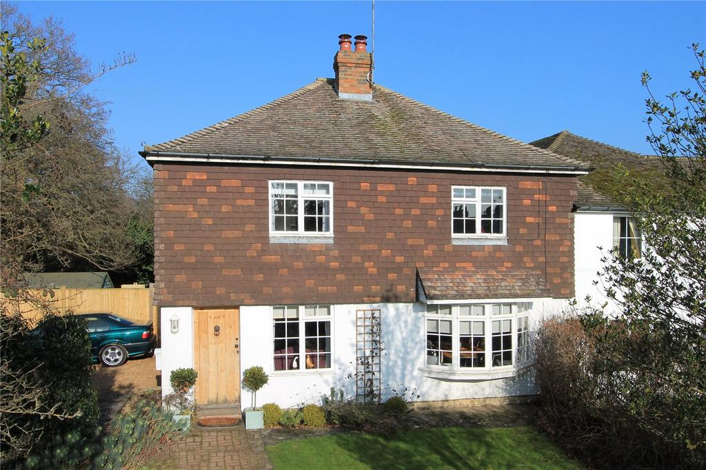 3 Bedrooms Semi Detached House for sale in Long Barn Road, Weald, Sevenoaks, Kent, TN14