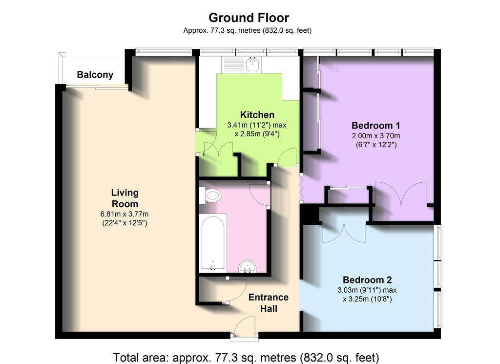Floorplan: Ninth Floor