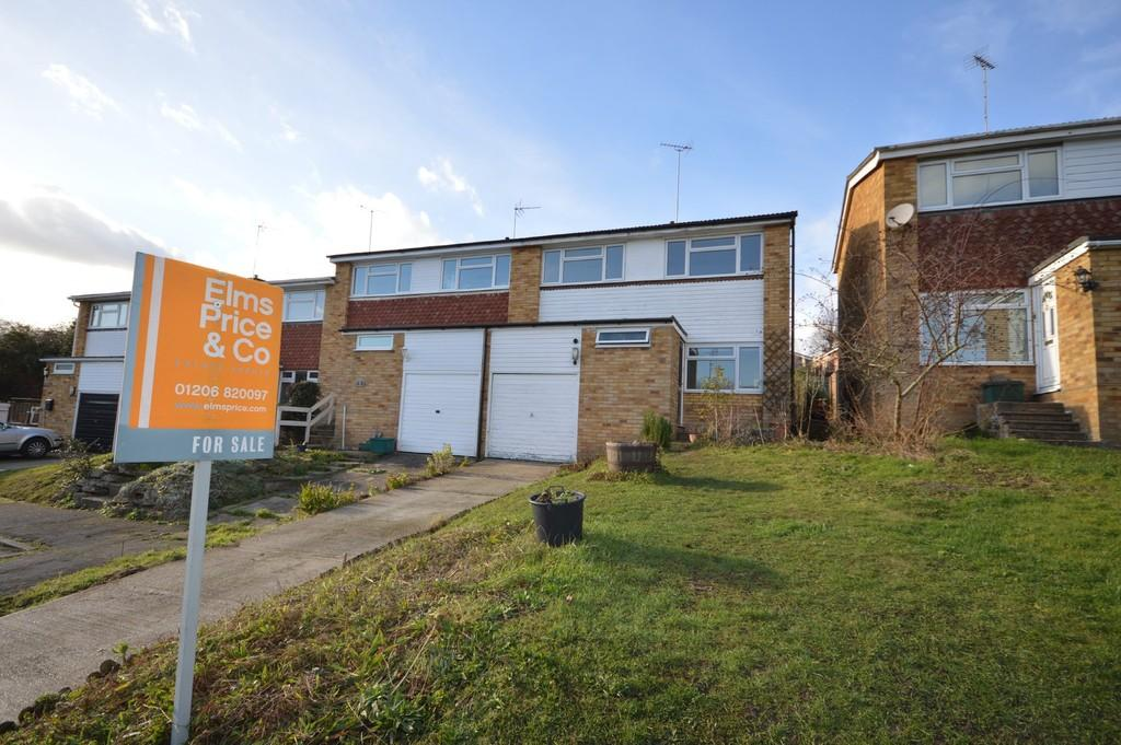 4 Bedrooms End Of Terrace House for sale in Sandford Close, Wivenhoe