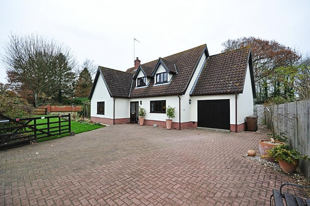 4 Bedrooms Detached House for sale in Church Street, Worlingworth, Woodbridge