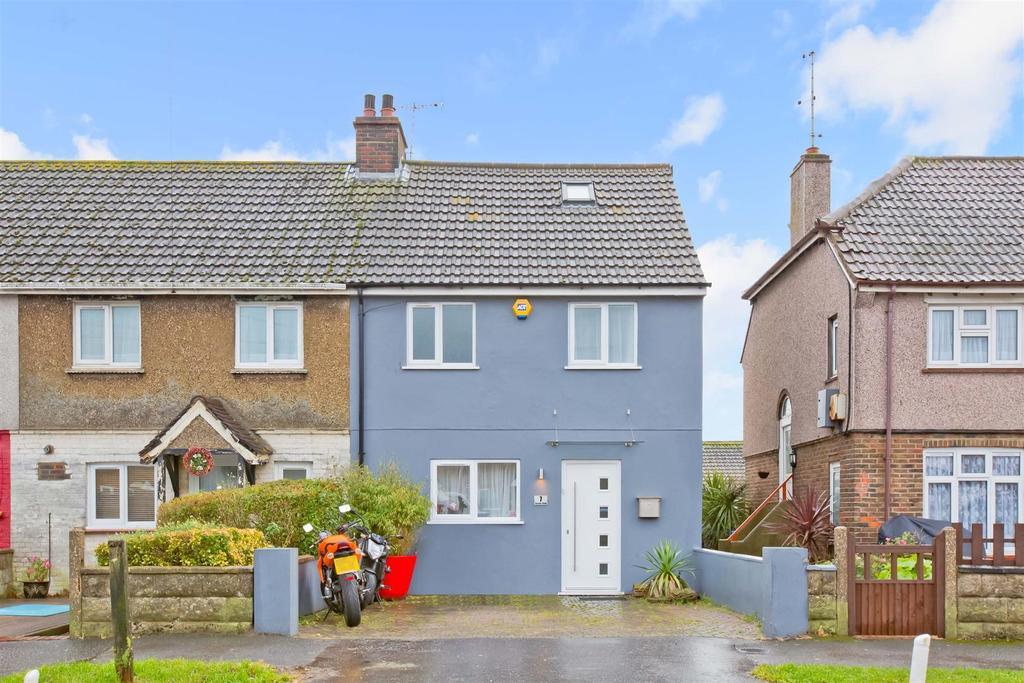 3 Bedrooms End Of Terrace House for sale in Gardner Road, Portslade, Brighton
