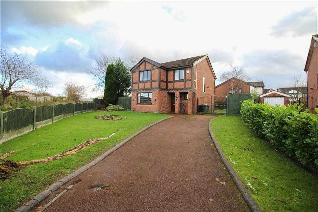 4 Bedrooms Detached House for sale in Barlow Fold Road, Reddish, Stockport