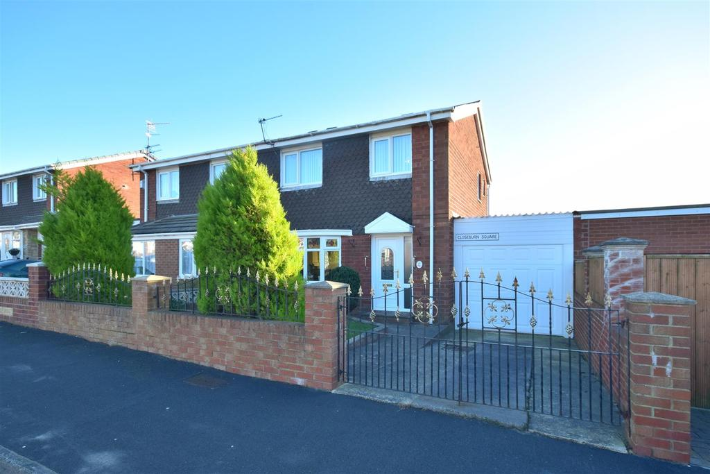 3 Bedrooms Semi Detached House for sale in Closeburn Square, Mill Hill, Sunderland