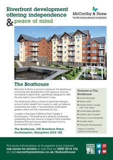 1 bedroom retirement property for sale - Bitterne Park, Southampton