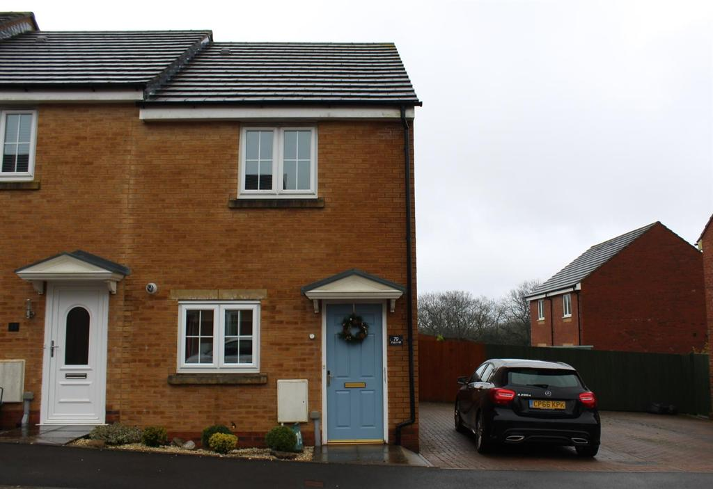 2 Bedrooms Semi Detached House for sale in Clos Ael-Y-Bryn, Penygroes, Llanelli