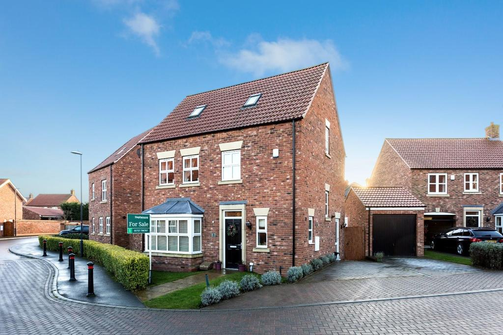 4 Bedrooms Detached House for sale in Station Rise, Riccall, York