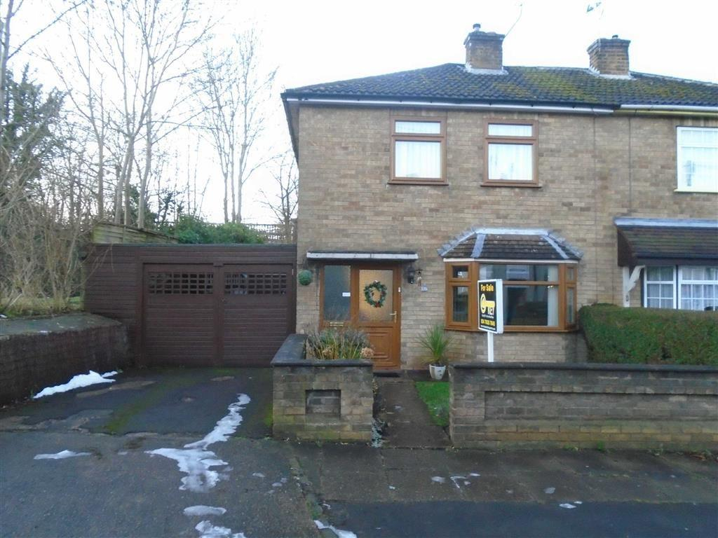2 Bedrooms Semi Detached House for sale in George Eliot Street, Coton, Nuneaton, Warwickshire, CV11