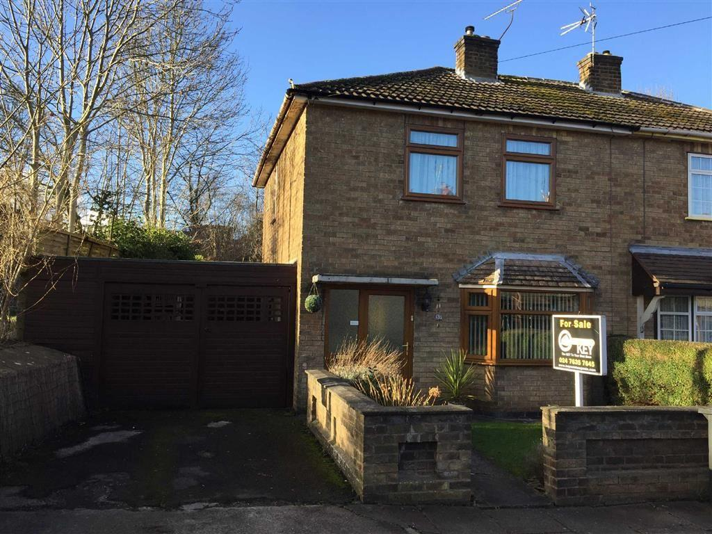 2 Bedrooms Semi Detached House for sale in George Eliot Street, Nuneaton, Warwickshire, CV11