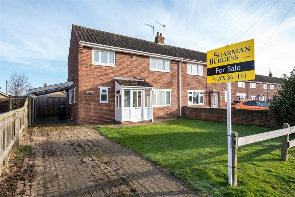 3 Bedrooms Semi Detached House for sale in Wellington Road, Boston, Lincolnshire