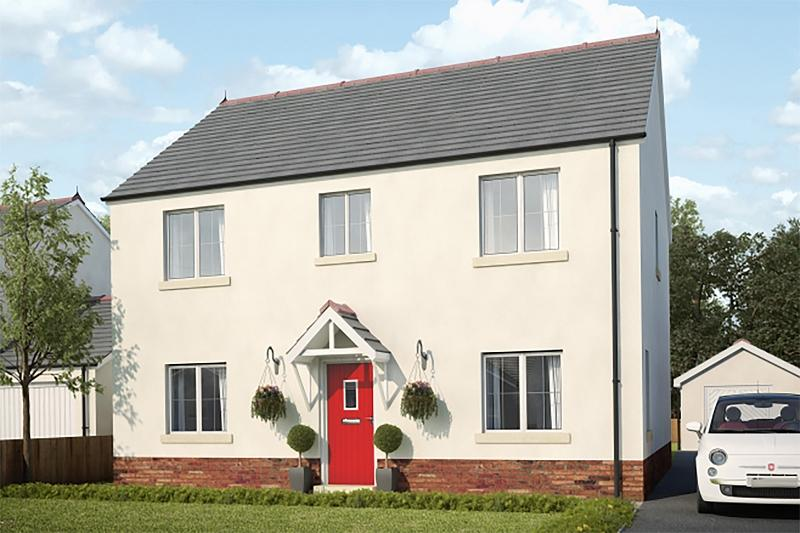 4 Bedrooms Detached House for sale in Plot 4 Maes Y Llewod, Bancyfelin, Carmarthen, Carmarthenshire