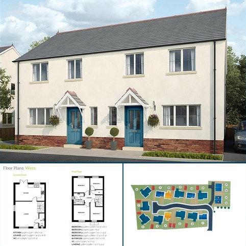 4 bedroom semi-detached house for sale - Plot 16 Maes Y Llewod, Bancyfelin, Carmarthen, Carmarthenshire