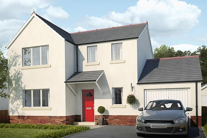 3 Bedrooms Detached House for sale in Plot 1 Maes Y Llewod, Bancyfelin, Carmarthen, Carmarthenshire