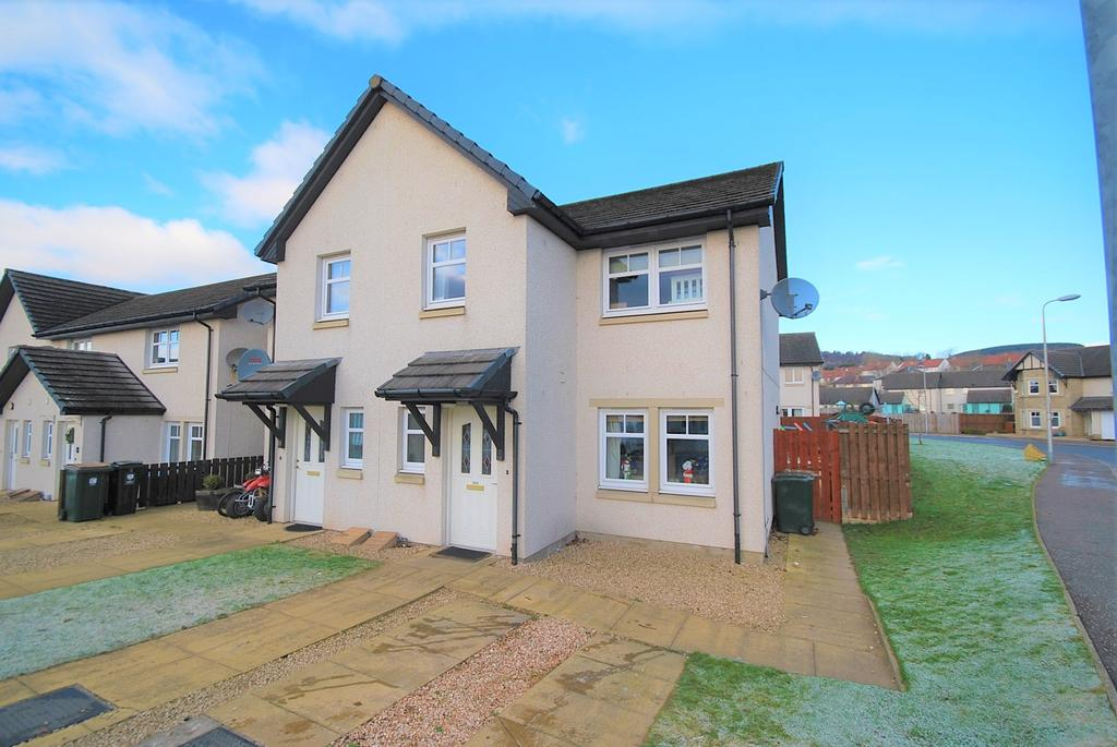 3 Bedrooms Semi-detached Villa House for sale in Tiree Place, Crieff PH7