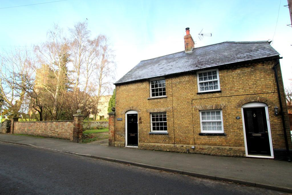 2 Bedrooms Semi Detached House for sale in High Street, Flitton, MK45 5DY