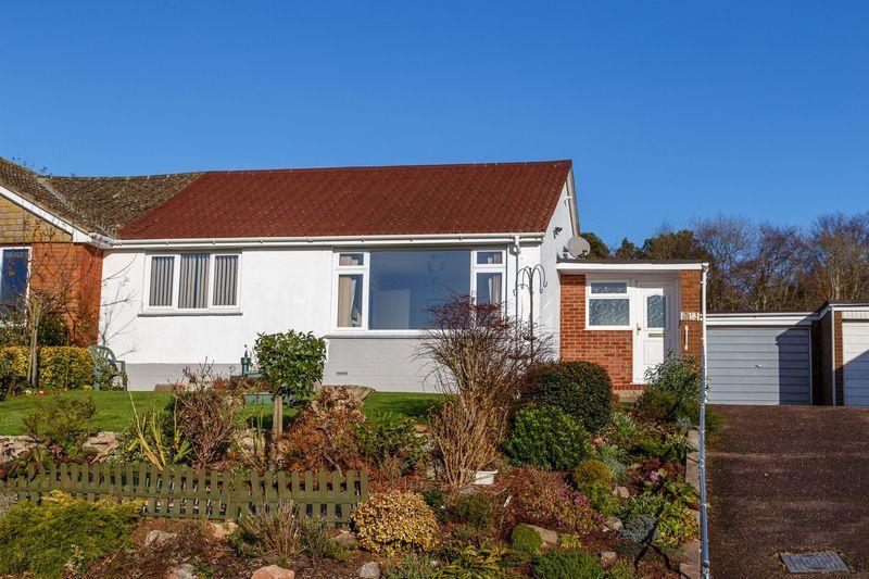 2 Bedrooms Semi Detached Bungalow for sale in Longmeadows, Crediton