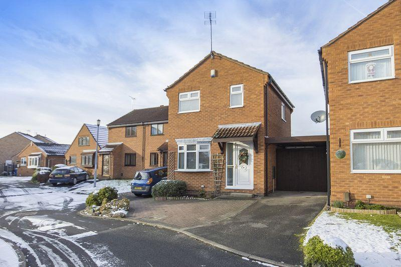 2 Bedrooms Detached House for sale in TAUNTON CLOSE, ALVASTON