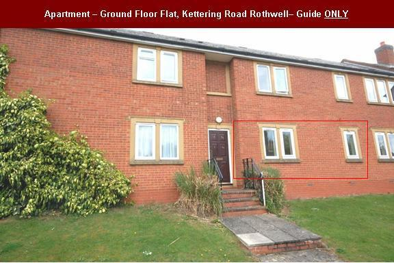 2 Bedrooms Ground Flat for rent in GROUND FLOOR Apartment, Kettering Road, Rothwell