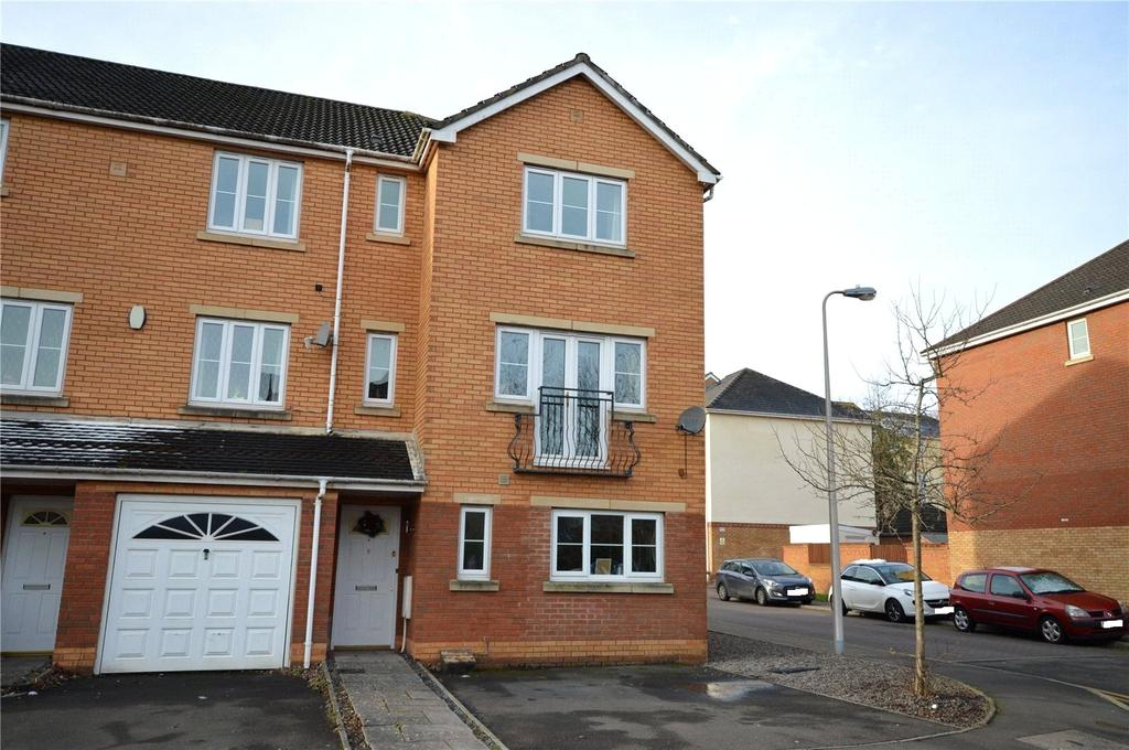 4 Bedrooms End Of Terrace House for sale in Blackberry Way, Pontprennau, Cardiff, CF23