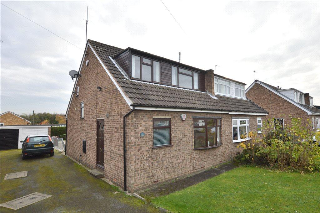 4 Bedrooms Semi Detached House for sale in Fishponds Drive, Crigglestone, Wakefield, West Yorkshire