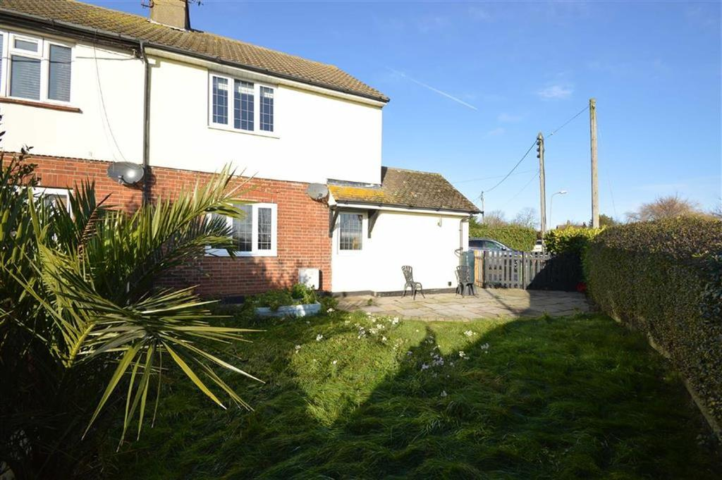 2 Bedrooms Semi Detached House for sale in Anchor Lane Cottages, Canewdon, Essex