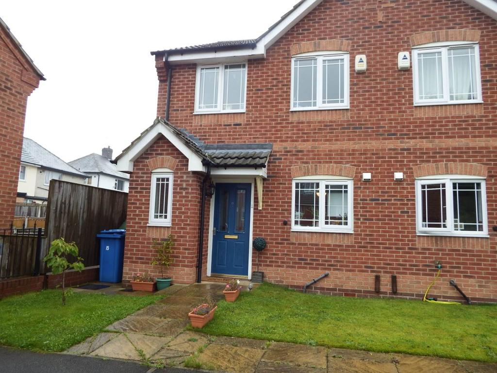 3 Bedrooms Semi Detached House for rent in Mulberry Close, Mansfield, Nottingham