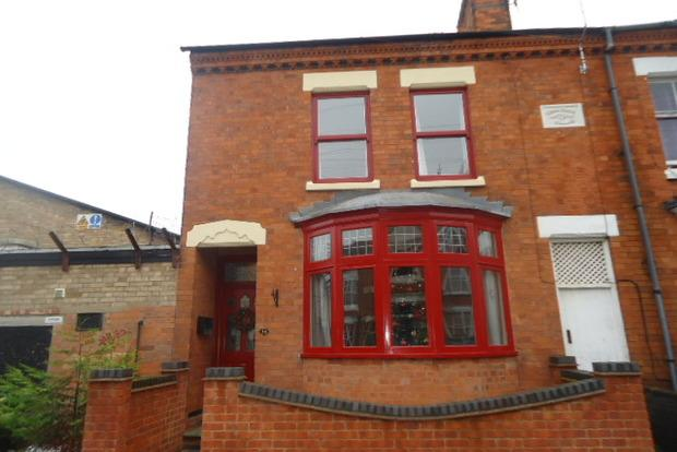 3 Bedrooms End Of Terrace House for sale in Stretton Road, Western Park, Leicester, LE3