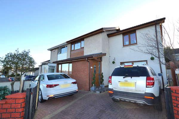 4 Bedrooms Semi-detached Villa House for sale in 2 Cambourne Road, Chryston, Glasgow, G69 0PG