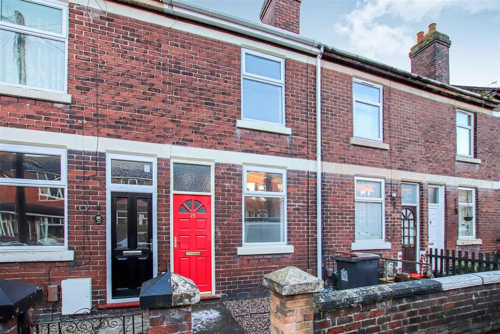2 Bedrooms Terraced House for sale in Queen Street, Porthill, Newcastle, Staffs