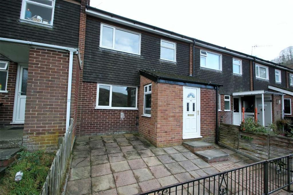 3 Bedrooms Terraced House for sale in Radnor Drive, KNIGHTON, Knighton, Powys