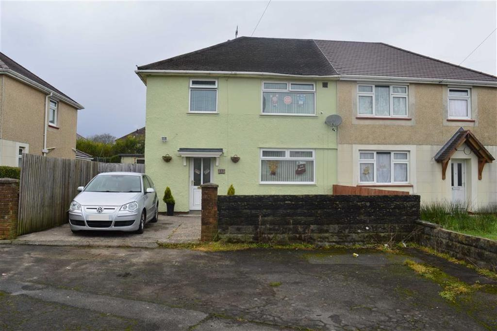 3 Bedrooms Semi Detached House for sale in Gethin Close, Swansea, SA5