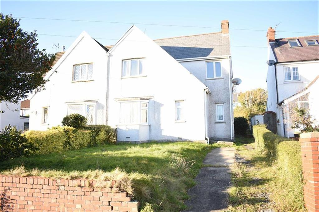 3 Bedrooms Semi Detached House for sale in Bellevue Road, West Cross, Swansea