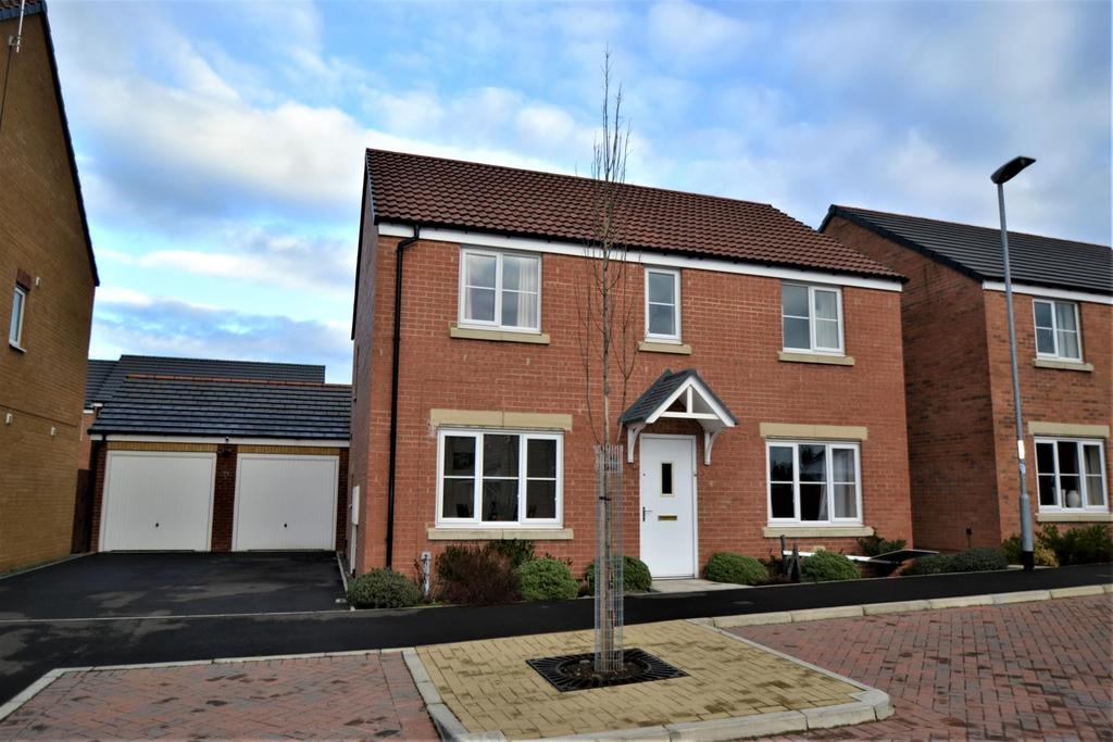 4 Bedrooms Detached House for sale in Watson Park, Spennymoor