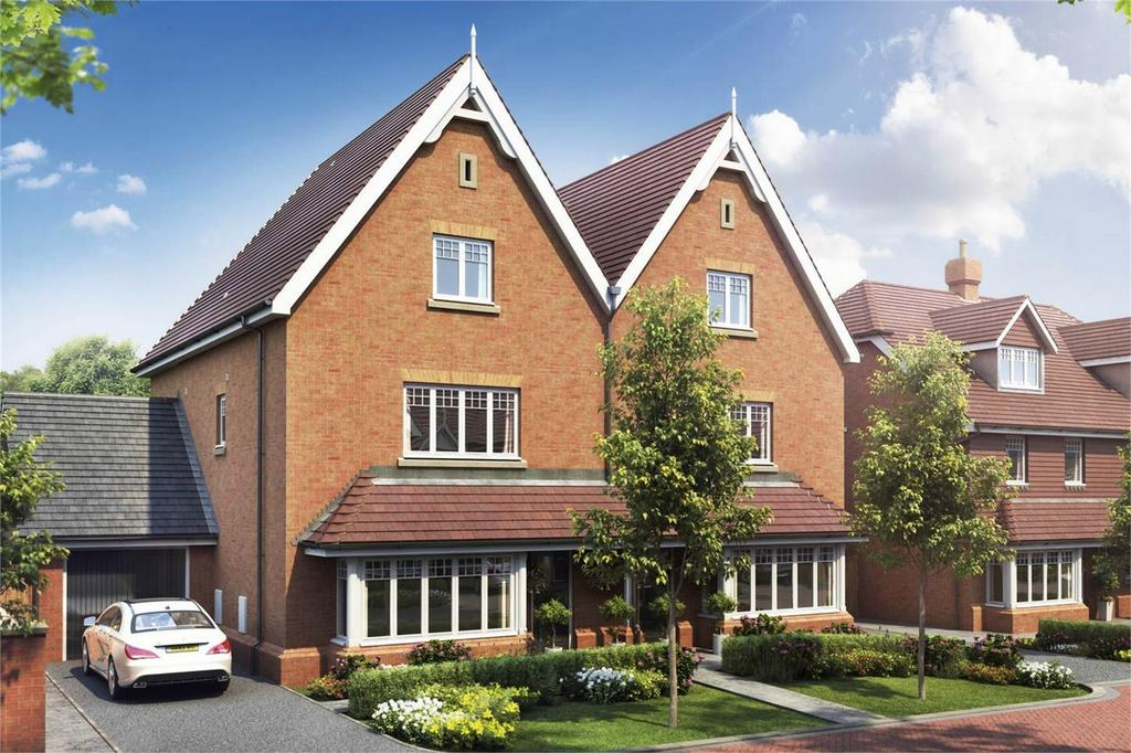 4 Bedrooms Semi Detached House for sale in Epsom Road, Guildford, Surrey