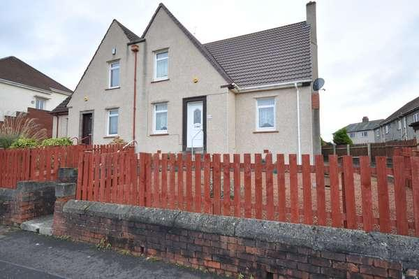 2 Bedrooms Semi-detached Villa House for sale in 108 Lainshaw Avenue, Kilmarnock, KA1 4TF