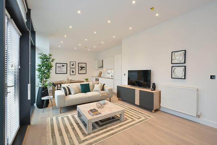 2 Bedrooms Apartment Flat for sale in Waterside Apartments, E9