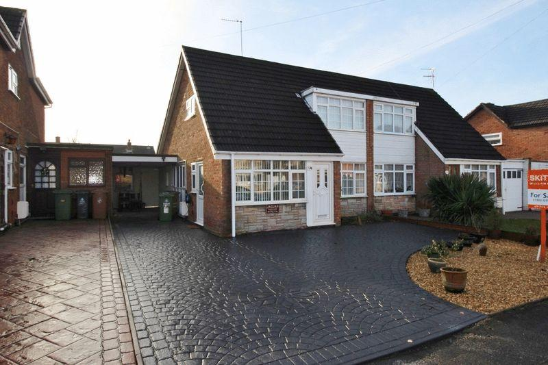 3 Bedrooms Semi Detached House for sale in Burleigh Close, Summer Hayes, Willenhall