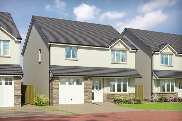 4 Bedrooms Detached House for sale in Plot 27, Cuillin, Oaktree Gardens, Alloa Park, Alloa, Stirling, FK10 1QY