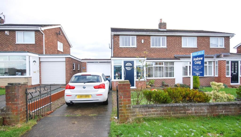3 Bedrooms Semi Detached House for sale in Garsdale, Birtley