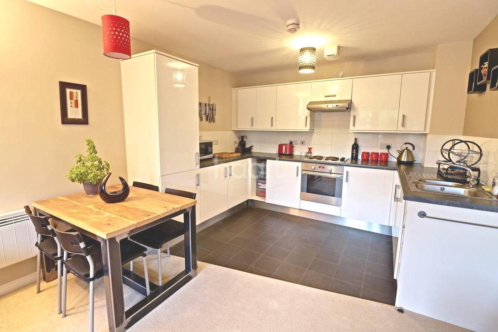2 Bedrooms Flat for sale in Paxton Drive, Ashton Gate, Bristol