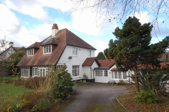 4 Bedrooms Detached House for sale in Periton Road, Minehead