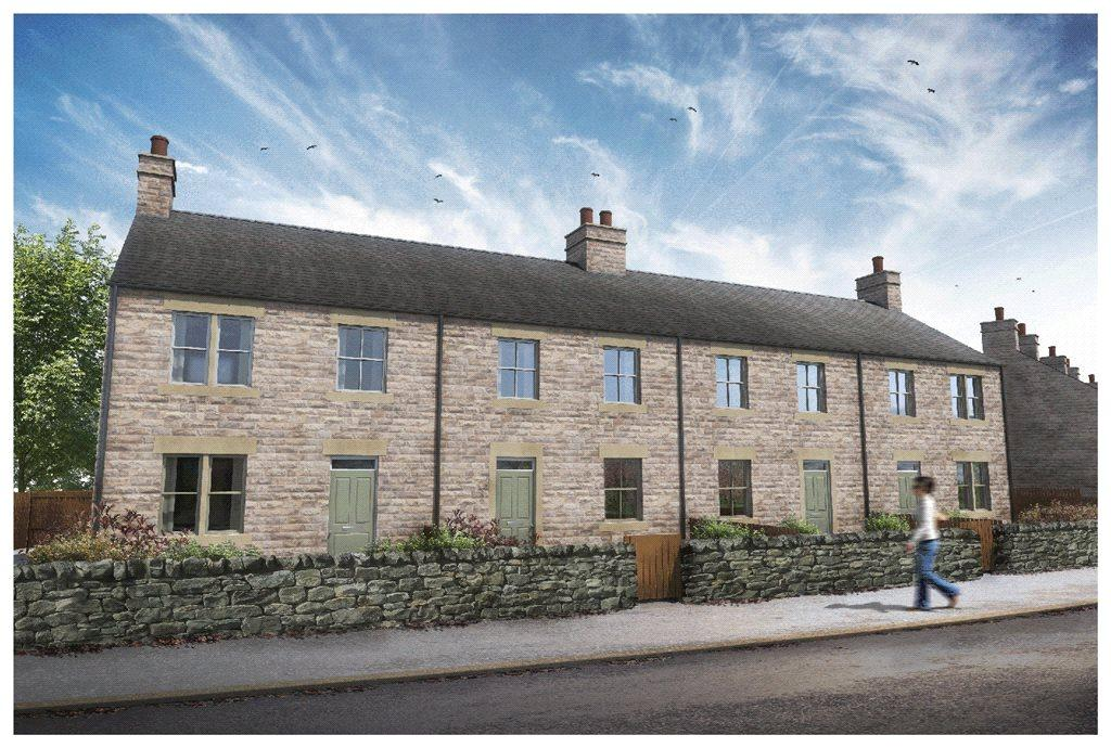 3 Bedrooms Terraced House for sale in Church View, Dacre Banks, Harrogate, North Yorkshire