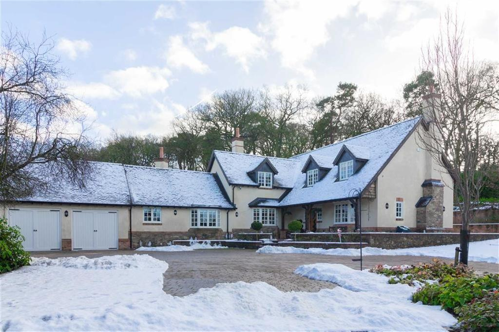 4 Bedrooms Detached House for sale in Warren Hill, Newtown Linford, LE6